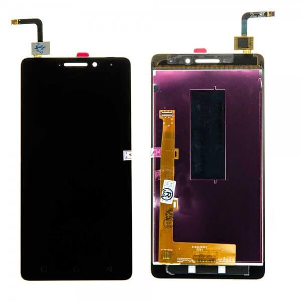 Картинка Дисплей Lenovo P1m в сборе с тачскрином черный от магазина NBS Parts