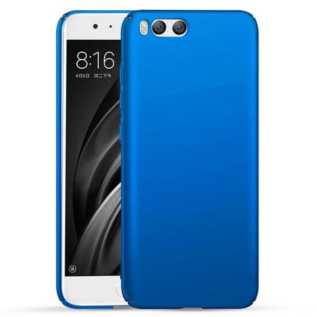 Картинка Кейс Xiaomi Mi6 матовый (Синий) от магазина NBS Parts