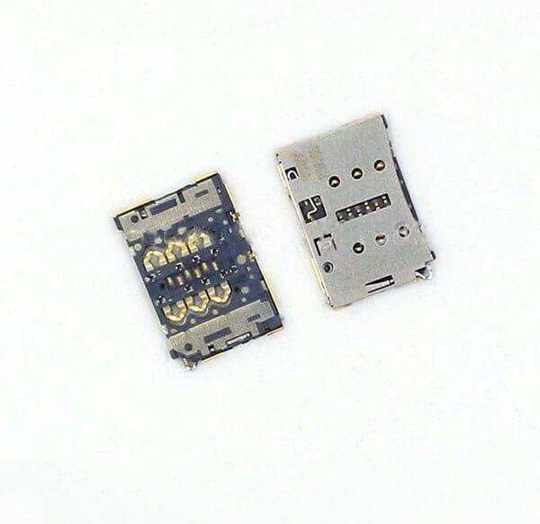Картинка Коннектор SIM Huawei P8 от магазина NBS Parts