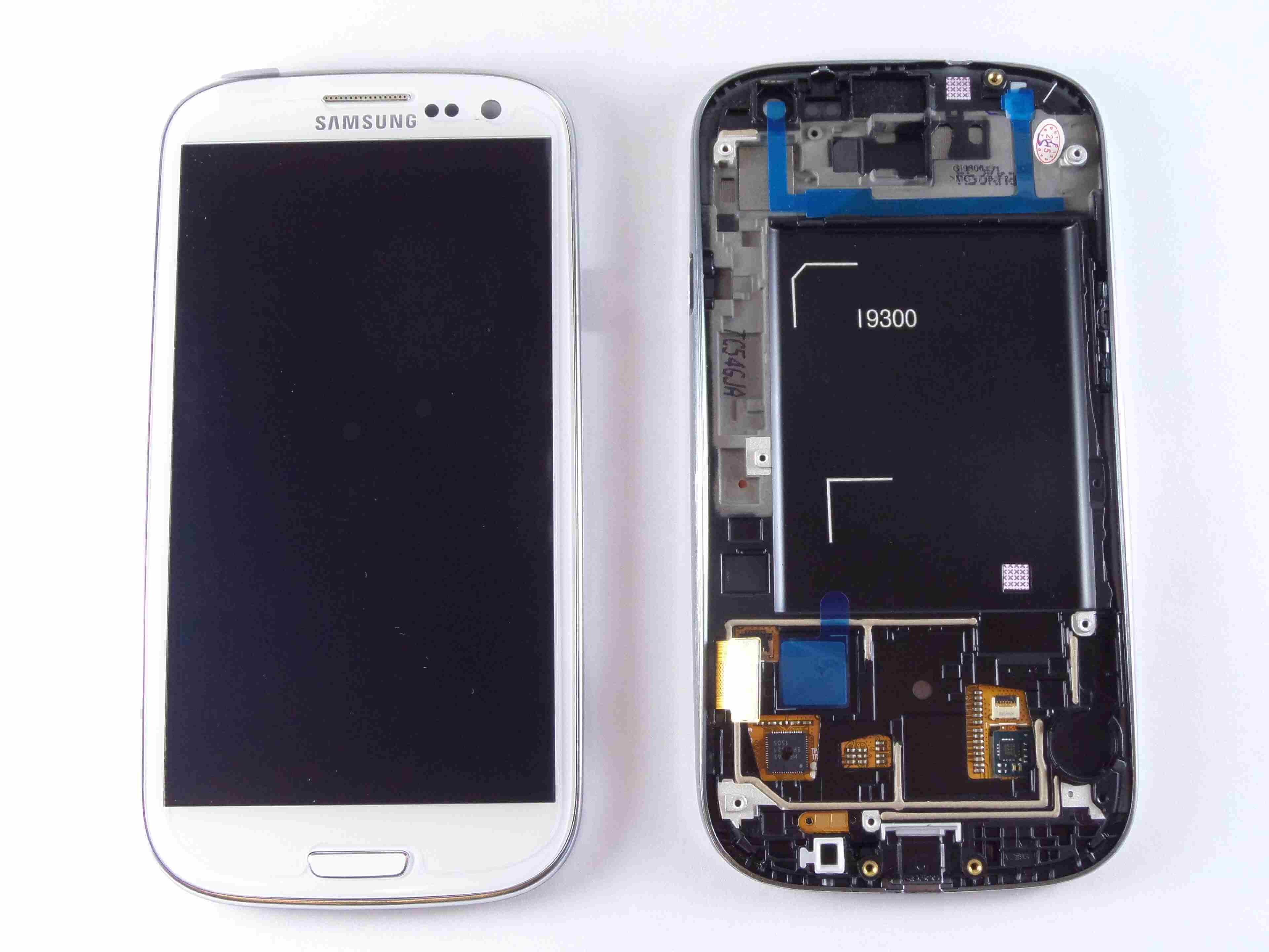 Картинка Дисплей Samsung i9301 модуль белый от магазина NBS Parts