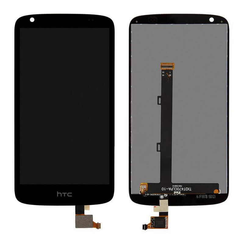Картинка Дисплей HTC Desire 526G Dual (в сборе с тачем черный) от магазина NBS Parts