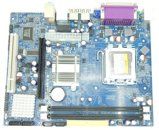Картинка Материнская плата Foxconn, Socket775, G41, 2DDR3-1333mHz, PCI-Ex16, SATA, 5.1-ch, VGA, mATX от магазина NBS Parts
