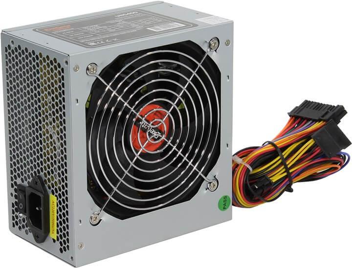 Картинка Блок питания 400W ATX Exegate UNS400 ES261567RUS (20+4pin, 4-pinCPU, 15-pinSATAx3, 4-pinIDEx2) от магазина NBS Parts