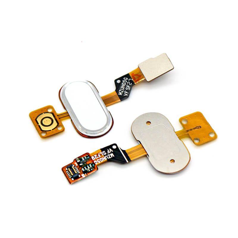 Картинка Шлейф Meizu M3s mini шлейф на кнопку HOME розовый от магазина NBS Parts