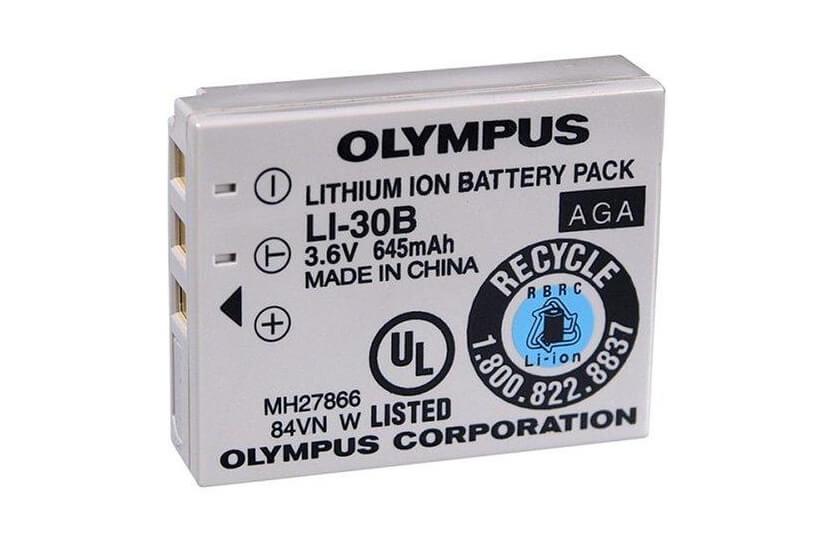 Картинка АКБ OLYMPUS LI-30B от магазина NBS Parts