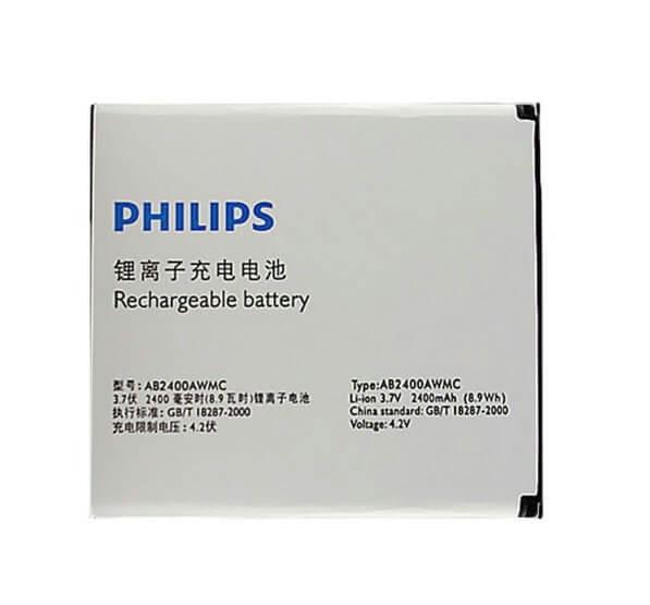 Картинка АКБ Philips w732 W6500 D833 W737 W736 W832 AB2400AWMC от магазина NBS Parts