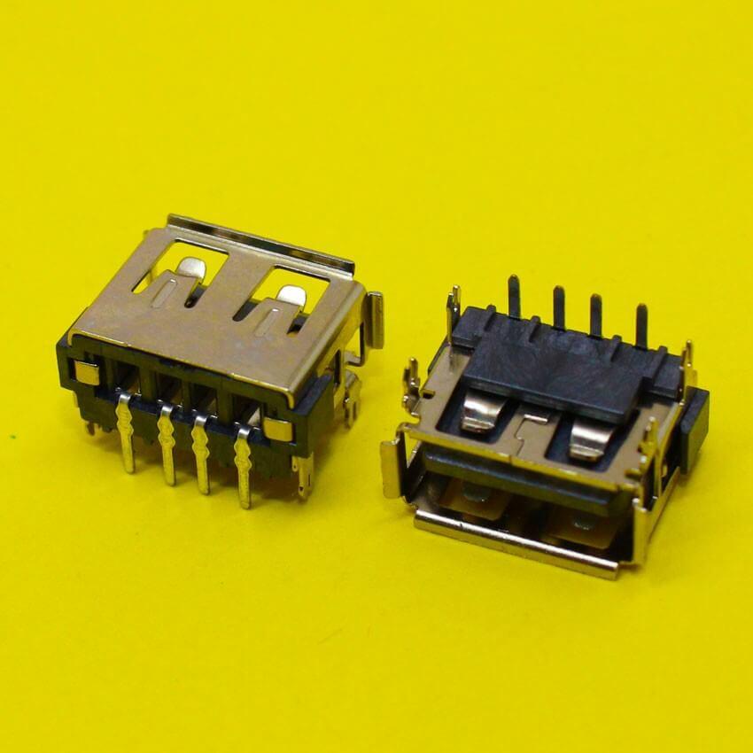 Картинка Разъем USB №100 одинарный обратный (Я042) от магазина NBS Parts