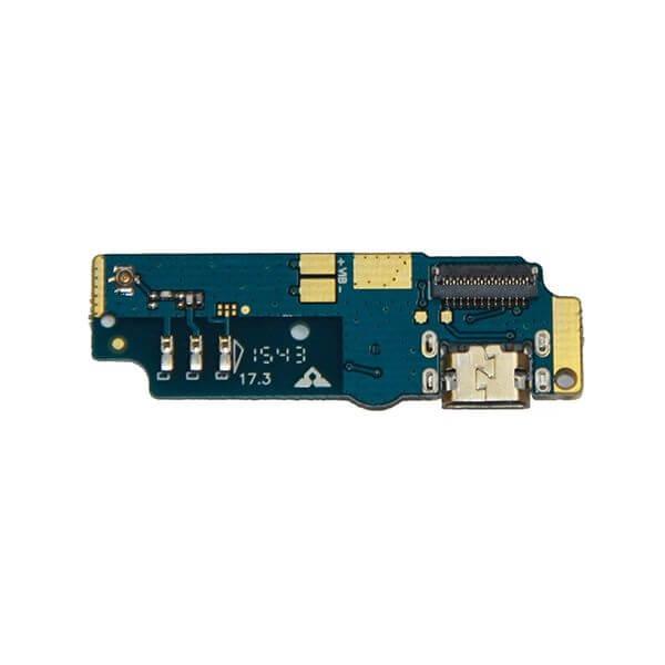 Картинка Шлейф Asus ZC550KL (ZenFone Max) плата на системный разъем/микрофон от магазина NBS Parts