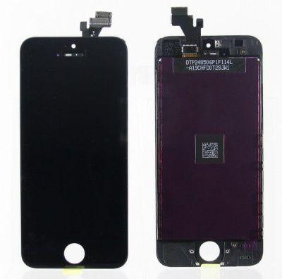 Детальная картинка Дисплей iPhone 5 в сборе чёрный копия от магазина NBS Parts