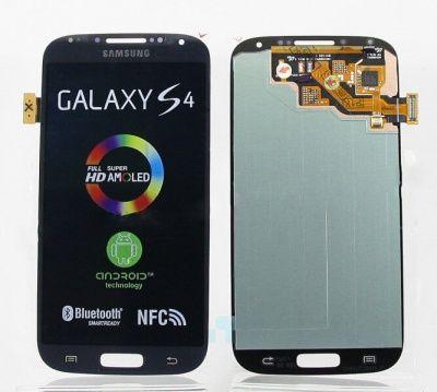 Детальная картинка Дисплей Samsung i9500 в сборе с тачскрином черный от магазина NBS Parts