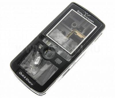 Детальная картинка Корпус SonyEricsson K750 черный от магазина NBS Parts