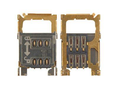 Детальная картинка Коннектор SIM Nokia 202/203/300/311/701 от магазина NBS Parts