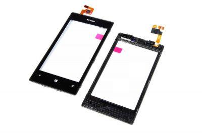 Детальная картинка Сенсор Nokia 520/525 черный (копия) от магазина NBS Parts