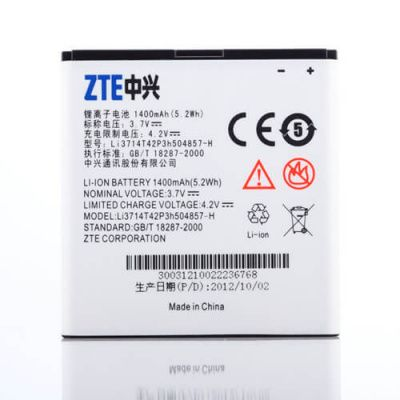 Детальная картинка АКБ ZTE U830 U812 V788D U788 V811 Билайн Смарт 2 Li3714T42P3h504857-H Li3715T42P3h504857 от магазина NBS Parts