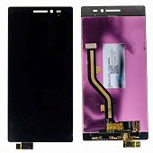 Картинка Дисплей Lenovo Vibe X2 в сборе с тачем черный от магазина NBS Parts