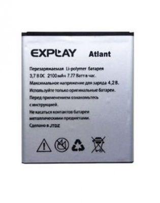 Детальная картинка АКБ Explay Atlant 2100Mah 3.7V от магазина NBS Parts