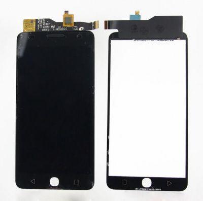 Детальная картинка Дисплей Alcatel OT 5022D в сборе с тачем черный  от магазина NBS Parts