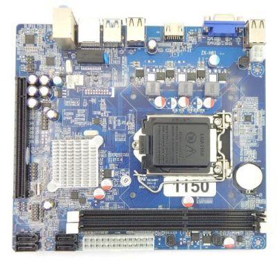 Детальная картинка Материнская плата Foxconn, Socket1150, H81, 2DDR3, PCI-Ex16, SATA, 5.1-ch, VGA, mATX от магазина NBS Parts