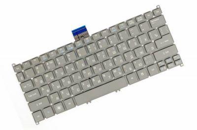 Детальная картинка Клавиатура для Acer S3 S5 V5-121 Серая P/n: 9Z.N7WPW.20R, 90.4BT07.A0R, V128230AS1, NSK-R12PW от магазина NBS Parts
