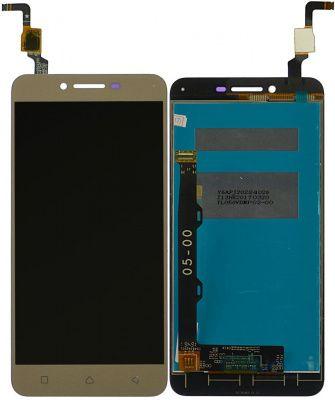 Детальная картинка Дисплей Lenovo K5/A6020A46 в сборе с тачскрином золотой от магазина NBS Parts