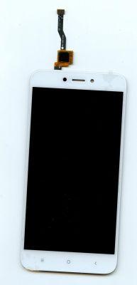 Детальная картинка Дисплей Xiaomi Redmi 5A в сборе с тачскрином белый от магазина NBS Parts